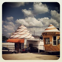 Photo taken at The Cone by Collin M. on 5/24/2012