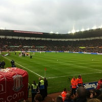 Photo taken at Bet365 Stadium by tony j. on 5/1/2012