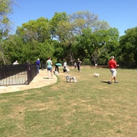 Photo taken at Wagging Tail Dog Park by Marcus S. on 3/24/2012
