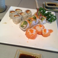 Photo taken at w Sushi by Janny C. on 5/11/2012