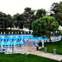 Photo taken at Hotel Sol Aurora by Heather K. on 6/17/2012