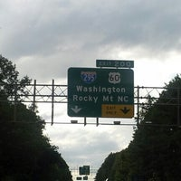Photo taken at I-295 Exit 28/I-64 by MRS C. on 8/26/2012