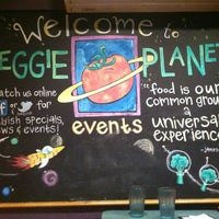 Photo taken at Veggie Planet by Madeline S. on 6/19/2012