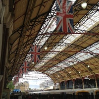 Photo taken at London Victoria Railway Station (VIC) by Mikey N. on 6/7/2012
