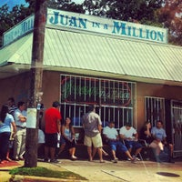 Photo taken at Juan in a Million by Chris G. on 8/26/2012