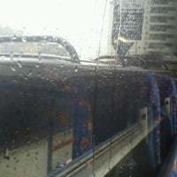 Photo taken at Megabus Birmingham City Centre Stop SH8 & SH9 by Mark B. on 6/21/2012