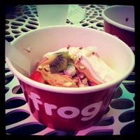 Photo taken at Frog Frozen Yogurt Bar by Joseph W. on 8/12/2012