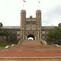 Photo taken at Washington University by Taotao W. on 3/15/2012