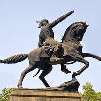 Photo taken at Shivaji Park by Ashish M. on 9/11/2012