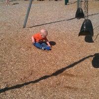 Photo taken at Cannon Beach Playground by John K. on 5/13/2012
