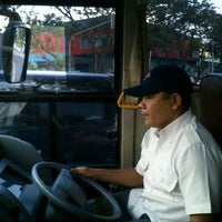 Photo taken at Bus Shelter SCBD by ★Melanie ★. on 4/18/2012