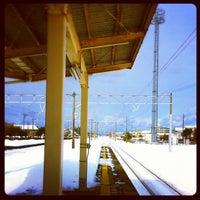 Photo taken at Ikuji Station by Eiji T. on 2/3/2012