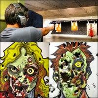 Photo taken at Evans Gunsmithing Shooters World by Nick Y. on 8/11/2012