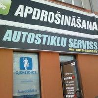 Photo taken at Auto-Glass.lv by Mārtiņš P. on 3/22/2012