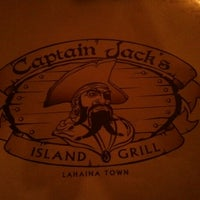 Photo taken at Captain Jack's Island Grill by Rebecca P. on 8/25/2012
