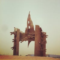 Photo taken at King Abdul-Aziz Roundabout by The Story Teller on 6/2/2012