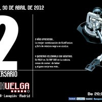 Photo taken at LA HUELGA en Lavapiés by La Huelga L. on 4/24/2012