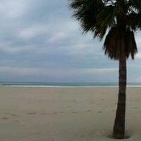 Photo taken at Playa De La Concha by Eva S. on 2/2/2012