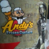 Photo taken at Andy's Frozen Custard by J.R. on 9/3/2012