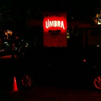 Photo taken at UMBRA Bar & Lounge by Satrio P. on 4/7/2012