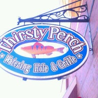 Photo taken at Thirsty Perch Fish & Oyster House by Randy C. on 4/8/2012