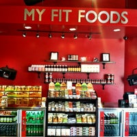 Photo taken at My Fit Foods by Chris S. on 5/5/2012