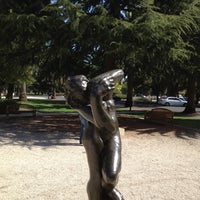 Photo taken at Rodin Sculpture Garden by Ishwari S. on 4/1/2012