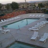 Photo taken at Red Rock Ridge Pool by Tanner H. on 6/17/2012