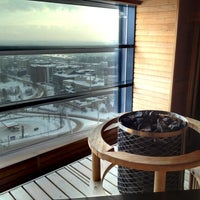 Photo taken at Panorama Tower by Tuomas T. on 2/16/2012