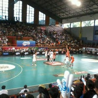 Photo taken at Hall A Basketball by Dwi Y. on 4/7/2012