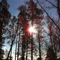 Photo taken at Pihlajarinnen Puisto by Alexander v. on 3/18/2012