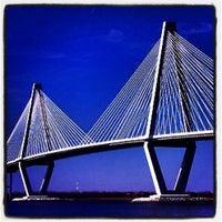 Photo taken at Arthur Ravenel Jr. Bridge by Taryn D. on 7/8/2012
