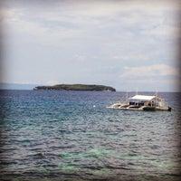 Photo taken at Sumilon Bluewater Island Resort by Kyle on 5/16/2012