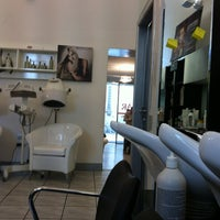 Photo taken at Sagar Hair Studio by Ilaria F. on 5/19/2012