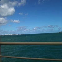 Photo taken at Ferry Boat Juracy Magalhães by Lucia K. on 5/4/2012