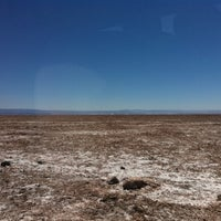 Photo taken at Salar de Atacama by Felipe O. on 3/18/2012