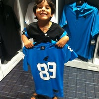 Photo taken at Carolina Panthers Team Store by CeeCee on 9/8/2012