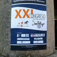 Photo taken at Facultade de Medicina by Gonzalo S. on 3/10/2012