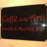 Photo taken at Café delle Arti by Robertino S. on 7/9/2012
