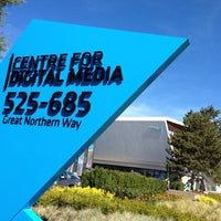 Photo taken at Centre for Digital Media by katsusmith on 9/12/2012