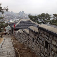 Photo taken at Hwaseong Fortress by JAson L. on 3/17/2012
