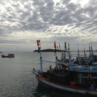 Photo taken at Na Ban Pier by Mint M. on 7/5/2012