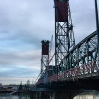 Photo taken at Hawthorne Bridge by Daniel P. on 2/12/2012