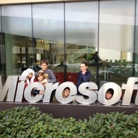 Photo taken at Microsoft Building 99 by Paolo T. on 4/1/2012