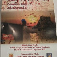 Photo taken at Comparsa Mora Playa Puebla Farnals by sergio l. on 4/13/2012