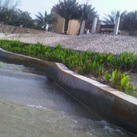Photo taken at Halul Water Fountain Luck Garden by Ruslan L. on 3/17/2012