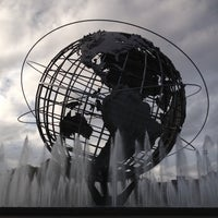 Photo taken at The Unisphere by Tom W. on 8/27/2012