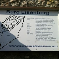Photo taken at Burgruine Eisenberg by Manfred E. on 3/25/2012