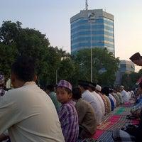 Photo taken at Masjid Wal' Ashri Pertamina by Syaiful A. on 8/18/2012