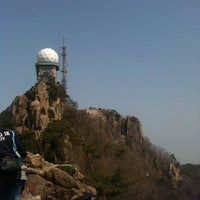Photo taken at 관악산 연주대 by sang kwi P. on 4/14/2012